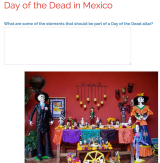 Using Google Docs to Teach About The Day of The Dead in Mexico